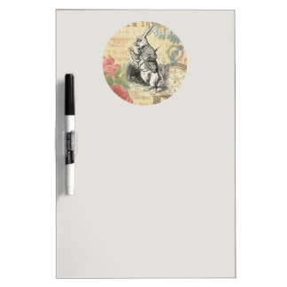 White Rabbit from Alice in Wonderland Dry-Erase Board