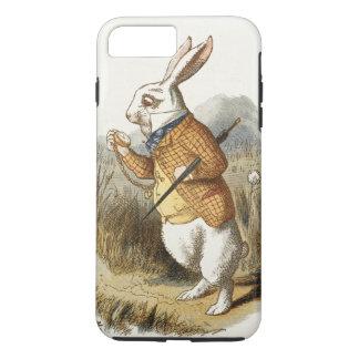 White Rabbit from Alice In Wonderland Vintage Art iPhone 7 Plus Case