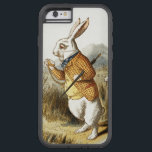 "White Rabbit from Alice In Wonderland Vintage Art Tough Xtreme iPhone 6 Case<br><div class=""desc"">The White Rabbit from Alice In Wonderland Vintage Art Colorized version by Sir John Tenniel. The White Rabbit is a fictional character in Lewis Carroll&#39;s book Alice&#39;s Adventures in Wonderland. He appears at the very beginning of the book, in chapter one, wearing a waistcoat, and muttering &quot;Oh dear! Oh dear!...</div>"