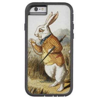White Rabbit from Alice In Wonderland Vintage Art Tough Xtreme iPhone 6 Case