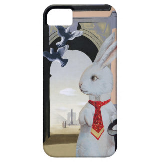 White Rabbit Goes to Paris; Cute Vintage Composite iPhone 5 Covers