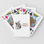 White Rabbit Herald Hearts Wonderland Bicycle Card Deck