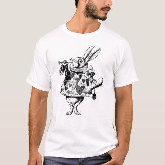 White Rabbit Herald Inked Black T-Shirt