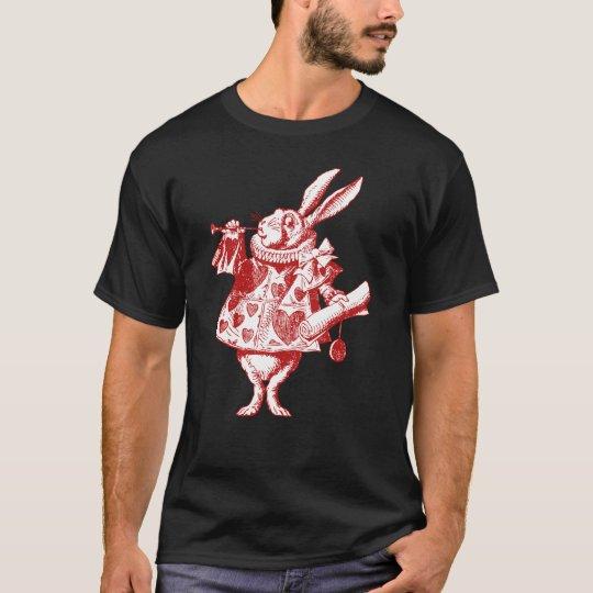 White Rabbit Herald Inked Red T-Shirt