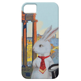 White Rabbit in Rome - Cute Vintage iphone Case iPhone 5 Cover