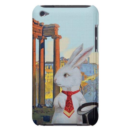 White Rabbit in Rome - Cute Vintage Ipod Case