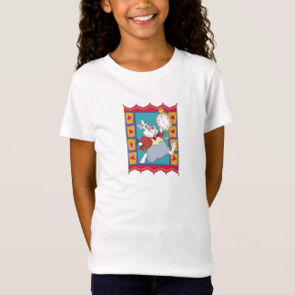 White Rabbit in Suited Frame Disney T-Shirt