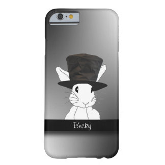 White Rabbit  in Top Hat Barely There iPhone 6 Case