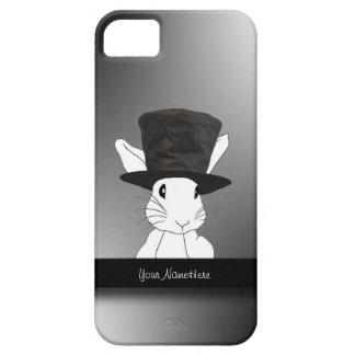 White Rabbit  in Top Hat iPhone 5 Case