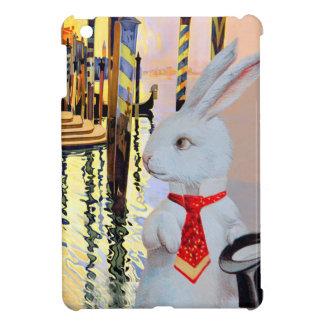 White Rabbit in Venice - Vintage Art Composite Cover For The iPad Mini