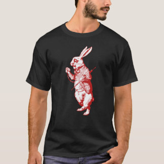 White Rabbit Inked Red T-Shirt