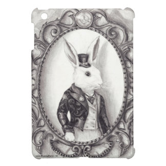 White Rabbit iPad Case White Rabbit Art
