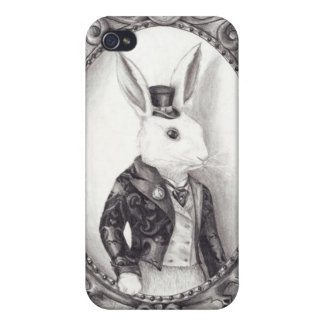 White Rabbit - iphone 4G/4GS Case iPhone 4 Covers