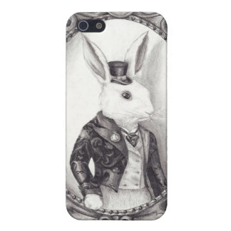 White Rabbit - iphone 4G/4GS Case Covers For iPhone 5