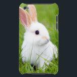 "White Rabbit iPod Touch Case<br><div class=""desc"">For rabbit lovers</div>"