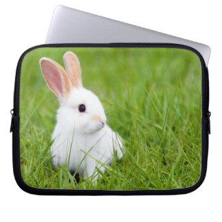 White Rabbit Laptop Sleeve