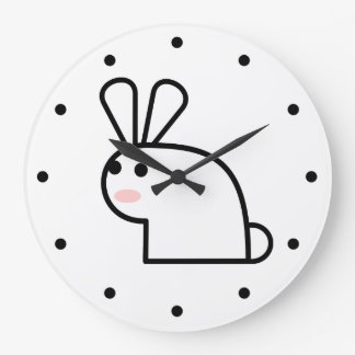 White Rabbit Large Clock