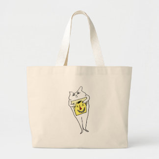 White Rabbit Large Tote Bag