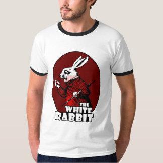 White Rabbit Logo Red T-Shirt