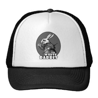 White Rabbit Logo Trucker Hat
