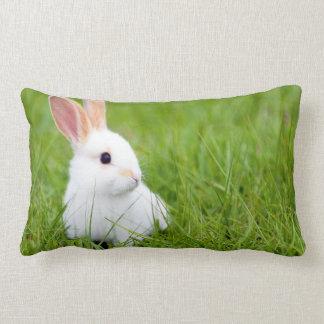 White Rabbit Lumbar Pillow