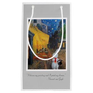 White Rabbit Meets Van Gogh Gift Bag