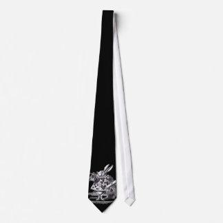White Rabbit Neck Tie