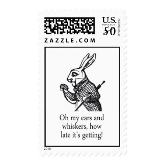 White Rabbit Oh My Ears And Whiskers Postage