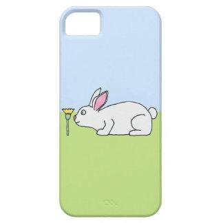 White Rabbit. On a Lawn. iPhone SE/5/5s Case