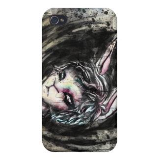 White Rabbit Phone Case iPhone 4 Cases