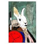 white rabbit pizarra blanca