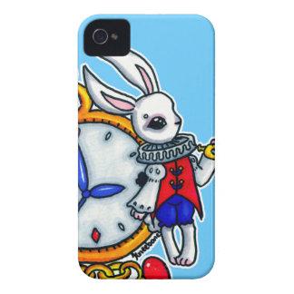 White Rabbit pocket watch Case-Mate Blackberry Case