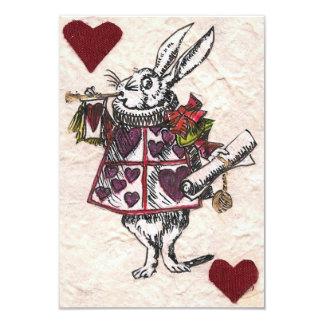 White Rabbit RSVP Personalized Invitations