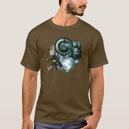 White Rabbit Steampunk T-Shirt