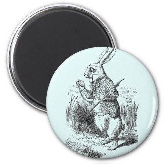 White Rabbit Stopwatch Magnet
