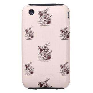 White Rabbit Tough iPhone 3 Case