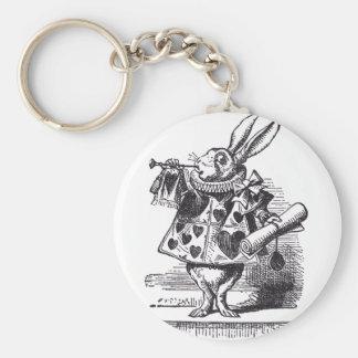 White Rabbit Trumpet Keychain