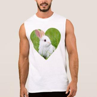 White Rabbit Sleeveless T-shirts