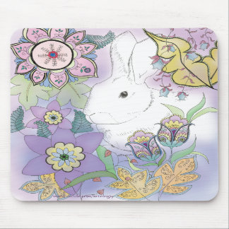 White Rabbit, Violet Garden mousepad