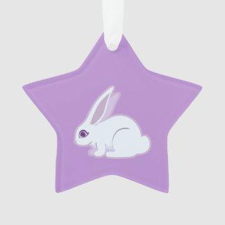White Rabbit With Long Ears Art