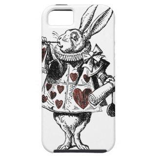 White Rabbits of Hearts - Alice in Wonderland iPhone SE/5/5s Case