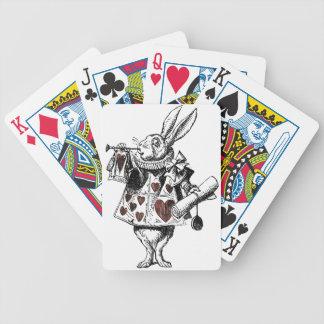 White Rabbits of Hearts - Alice in Wonderland Card Decks