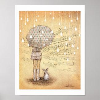 White Rain Symphony Letter Size Print