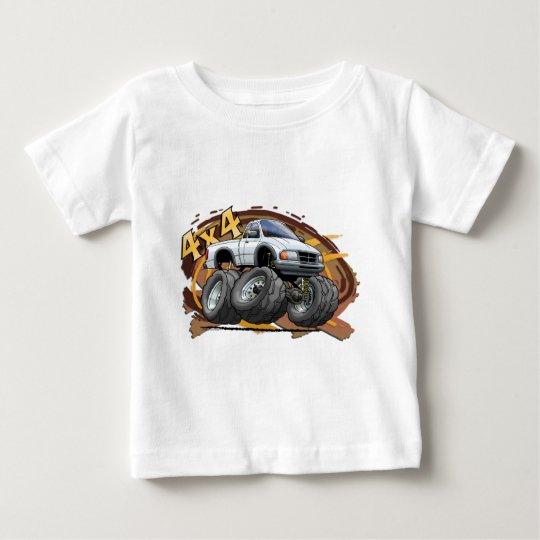 White Ranger Baby T-Shirt