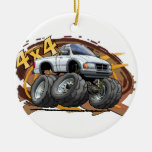 White Ranger Christmas Ornaments