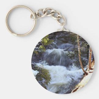 White Rapids Keychain