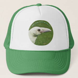 """WHITE RAVEN """"Be An Individual"""" Hat"""