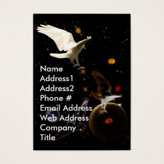 White Raven Business Card