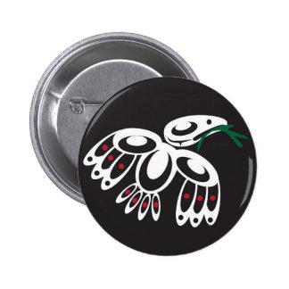 White Raven Pins