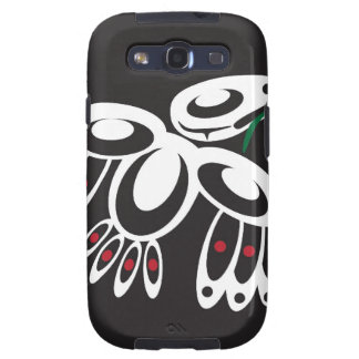White Raven Galaxy SIII Covers